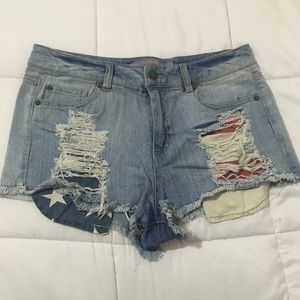 Ripped Shorts - Laura's Boutique